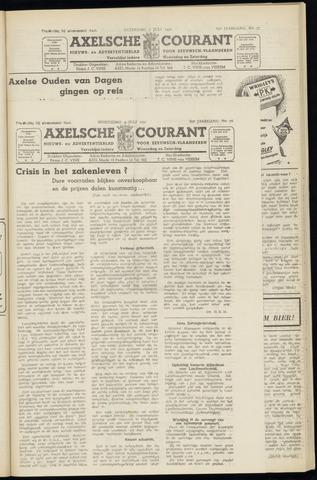 Axelsche Courant 1951-07-04
