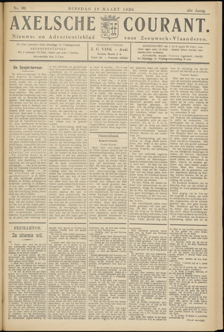 Axelsche Courant 1930-03-18
