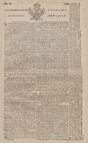 Middelburgsche Courant 1785-07-05
