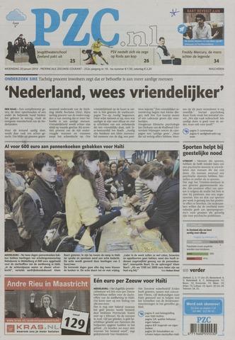 Provinciale Zeeuwse Courant 2010-01-20