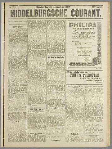Middelburgsche Courant 1927-12-15