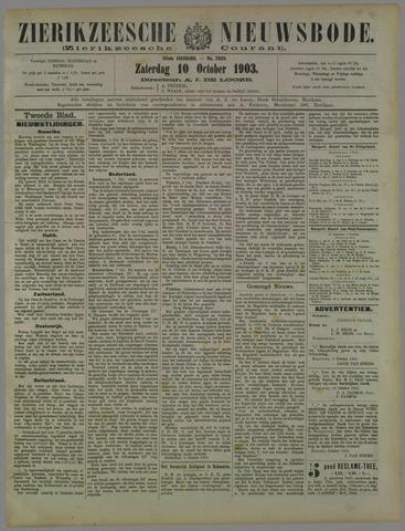 Zierikzeesche Nieuwsbode 1903-10-10