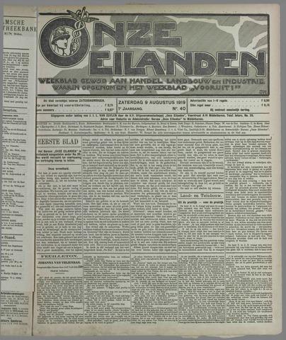 Onze Eilanden 1919-08-09