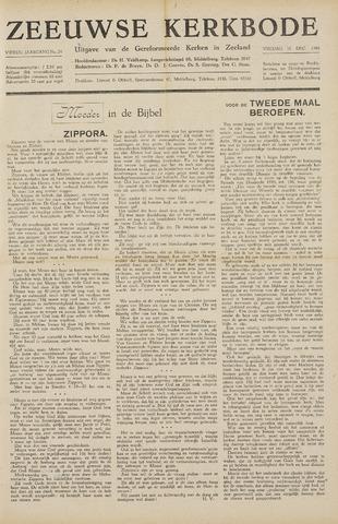 Zeeuwsche kerkbode, weekblad gewijd aan de belangen der gereformeerde kerken/ Zeeuwsch kerkblad 1948-12-10