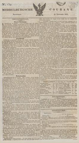 Middelburgsche Courant 1834-11-20