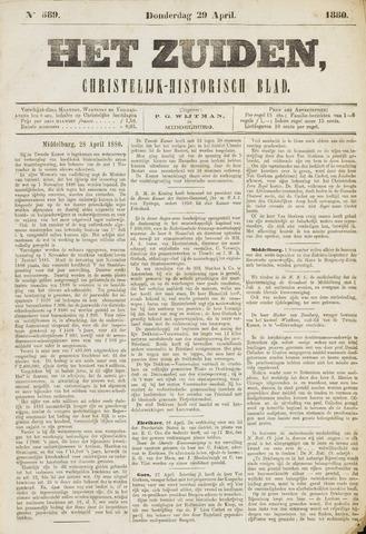 Het Zuiden, Christelijk-historisch blad 1880-04-29