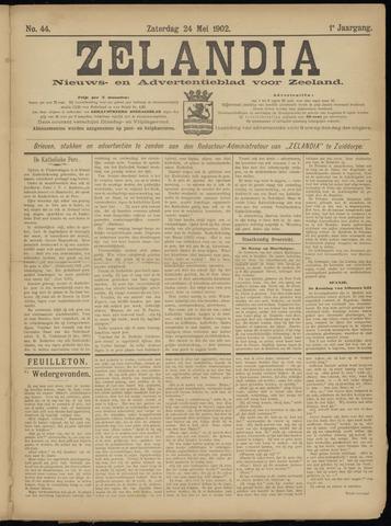 Zelandia. Nieuws-en advertentieblad voor Zeeland | edities: Het Land van Hulst en De Vier Ambachten 1902-05-24