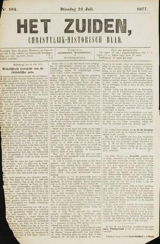 Het Zuiden, Christelijk-historisch blad 1877-07-24