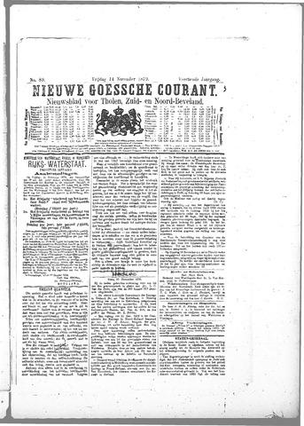 Nieuwe Goessche Courant 1879-11-14