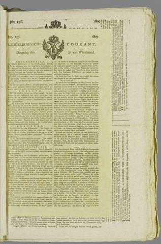 Middelburgsche Courant 1809-10-31