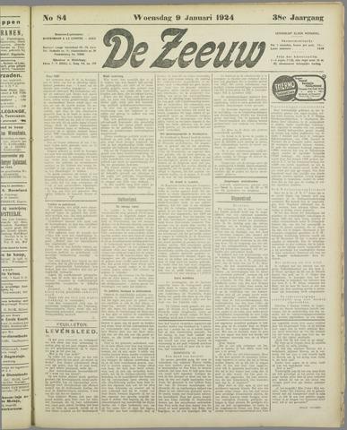 De Zeeuw. Christelijk-historisch nieuwsblad voor Zeeland 1924-01-09