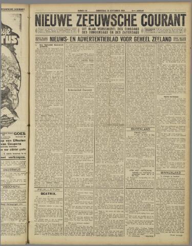 Nieuwe Zeeuwsche Courant 1925-09-10