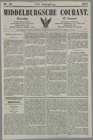 Middelburgsche Courant 1877-01-27
