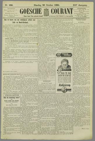 Goessche Courant 1924-10-28