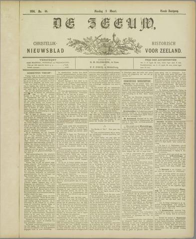 De Zeeuw. Christelijk-historisch nieuwsblad voor Zeeland 1896-03-03