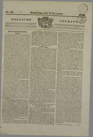 Goessche Courant 1842-11-03