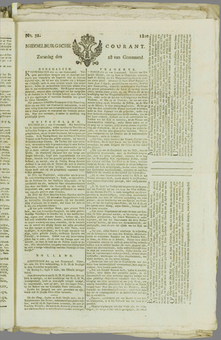 Middelburgsche Courant 1810-04-28
