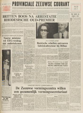 Provinciale Zeeuwse Courant 1972-01-20