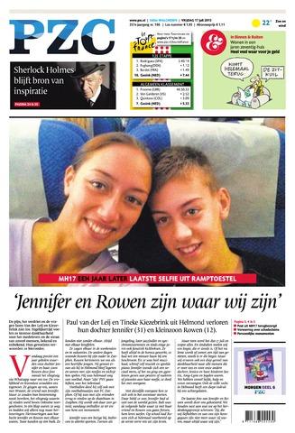 Provinciale Zeeuwse Courant 2015-07-17