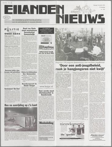 Eilanden-nieuws. Christelijk streekblad op gereformeerde grondslag 2004-12-07