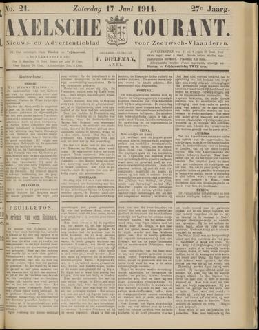 Axelsche Courant 1911-06-17