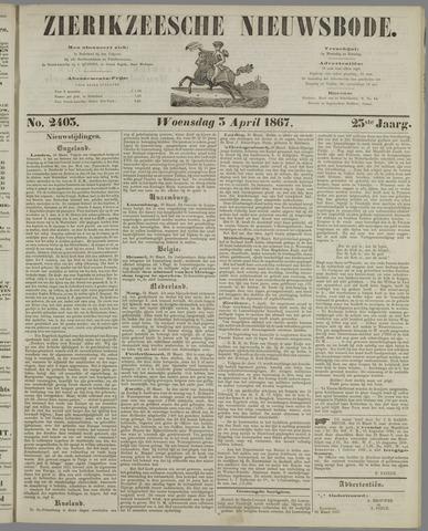 Zierikzeesche Nieuwsbode 1867-04-03