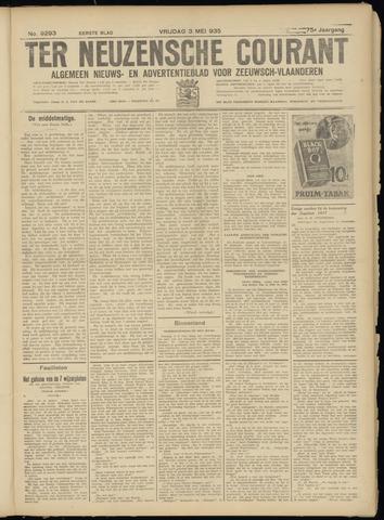 Ter Neuzensche Courant. Algemeen Nieuws- en Advertentieblad voor Zeeuwsch-Vlaanderen / Neuzensche Courant ... (idem) / (Algemeen) nieuws en advertentieblad voor Zeeuwsch-Vlaanderen 1935-05-03
