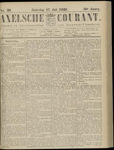 Axelsche Courant 1920-07-17