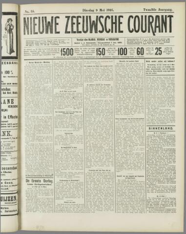 Nieuwe Zeeuwsche Courant 1916-05-09