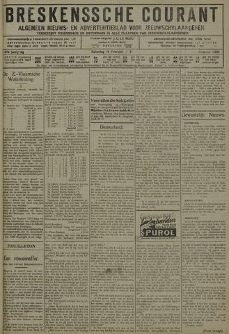 Breskensche Courant 1929-02-16