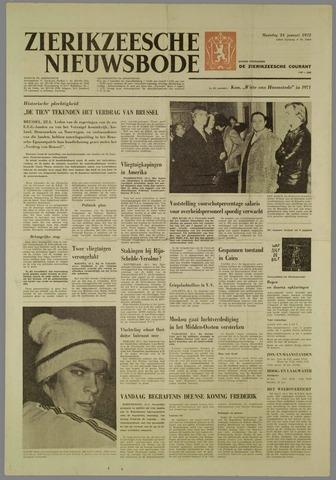 Zierikzeesche Nieuwsbode 1972-01-24