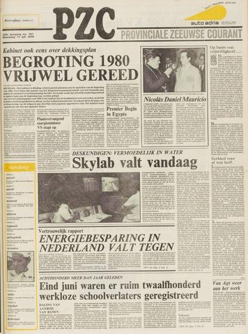 Provinciale Zeeuwse Courant 1979-07-11