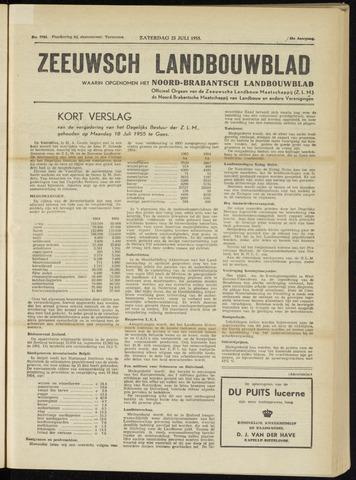 Zeeuwsch landbouwblad ... ZLM land- en tuinbouwblad 1955-07-23