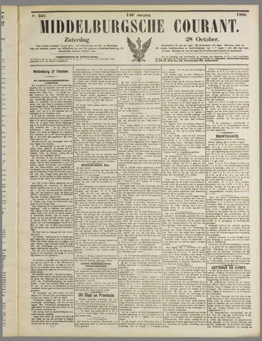 Middelburgsche Courant 1905-10-28