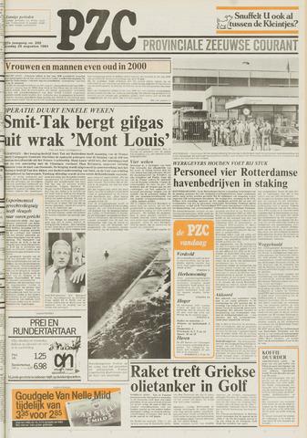 Provinciale Zeeuwse Courant 1984-08-28
