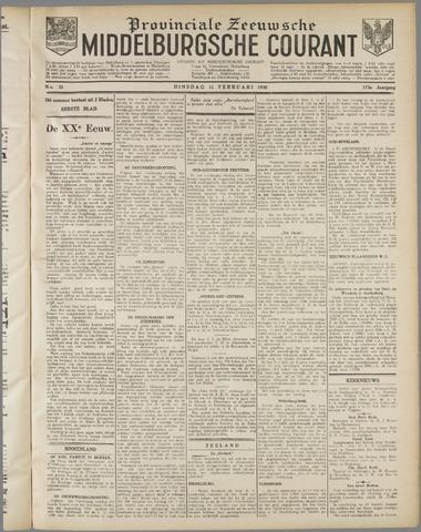 Middelburgsche Courant 1930-02-11
