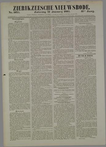 Zierikzeesche Nieuwsbode 1885-01-31