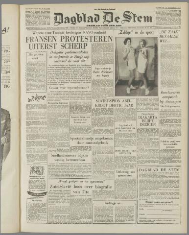 de Stem 1957-11-16
