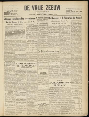 de Vrije Zeeuw 1951-02-10