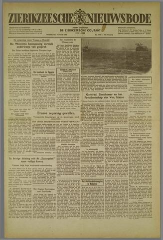 Zierikzeesche Nieuwsbode 1952-01-09