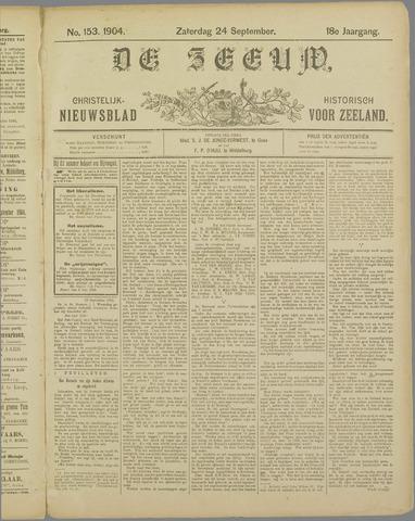 De Zeeuw. Christelijk-historisch nieuwsblad voor Zeeland 1904-09-24