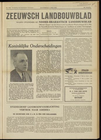 Zeeuwsch landbouwblad ... ZLM land- en tuinbouwblad 1952-05-03