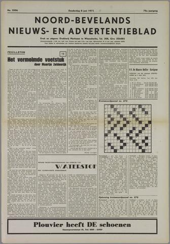 Noord-Bevelands Nieuws- en advertentieblad 1972-06-08