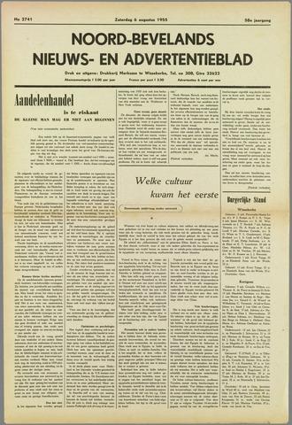 Noord-Bevelands Nieuws- en advertentieblad 1955-08-06