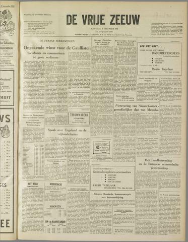 de Vrije Zeeuw 1958-12-01