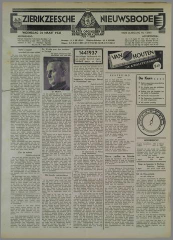 Zierikzeesche Nieuwsbode 1937-03-31
