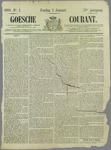 Goessche Courant 1888