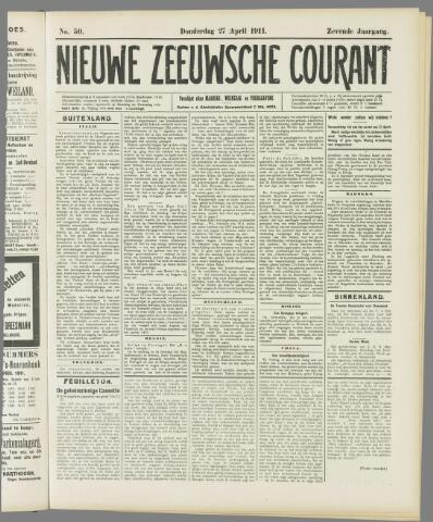 Nieuwe Zeeuwsche Courant 1911-04-27