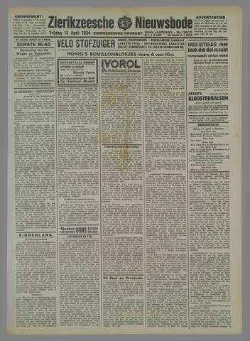 Zierikzeesche Nieuwsbode 1934-04-13