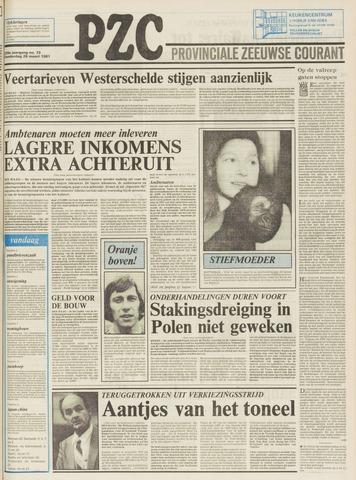 Provinciale Zeeuwse Courant 1981-03-26